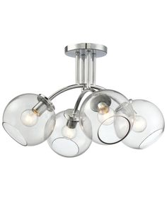 Kovacs P1845 Exposed 19 Inch Semi Flush Mount