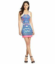 Gianni Bini Raleigh MirrorPrint Dress #Dillards Star Fashion, Fashion Beauty, Dress Outfits, Fashion Dresses, Blue Dresses, Summer Dresses, Cool Style, My Style, Gianni Bini