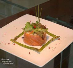 Taboulé de chou-fleur au saumon fumé et asperges |
