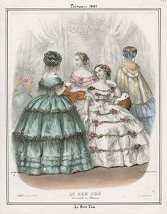 Le Bon Ton Sunday February 1 1857