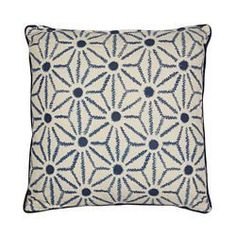 This cushion from The Collection is a great way to introduce contemporary style into a home. Ideal for any room, it has a rich cotton construction and features a distinctive star embroidered design. Home Collections, Contemporary Style, Snug, Cushions, Throw Pillows, Cotton, Construction, Inspiration, Design