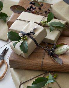 natur csomagolás, karácsony, húsvét környékén, vagy bármikor