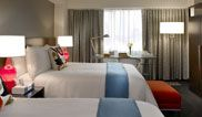 Double Double Deluxe - two beds, twice the fun at Hotel Murano.