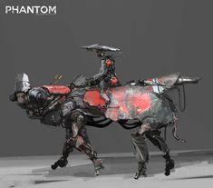 phantom_sketch_8, yi liu on ArtStation at https://www.artstation.com/artwork/X9keR