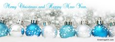 Merry Christmas & Happy New Year FB Cover