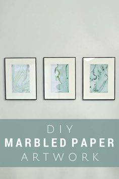 DIY Crafts Using Nail Polish - Fun, Cool, Easy and Cheap Craft Ideas for Girls, Teens, Tweens and Adults | DIY Marbled Paper Art Using Nail Polish