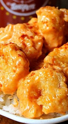 Cha Cha Shrimp with Texas Pete CHA!~ Lightly fried shrimp is coated in a creamy spicy sauce and served over rice. I like it served with steak fries and coleslaw, Yummy! Shrimp Recipes Easy, Spicy Recipes, Fish Recipes, Seafood Recipes, Asian Recipes, Cooking Recipes, Rub Recipes, Cooking 101, Gourmet