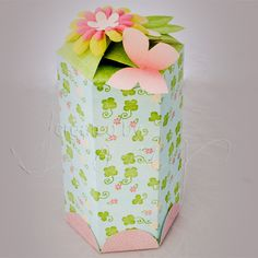 Canister Box Template Set :: Hybrid Projects :: The Digichick Shop 3d Paper, Paper Crafts, Making Baskets, Box Templates, Party Favours, Shape And Form, Paper Models, Gift Bags, Projects To Try