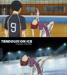 Tendou on ice