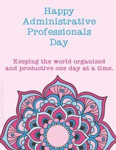 To all the admins, the glue that keeps the modern machine running .. y'all rock! #administrativeprofessionalsday #vasrock https://plus.google.com/+DeniseDukette/posts/F9KjAwKBz9R