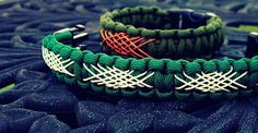 Stormdrane's Blog: Shoelace lattice lacing a paracord bracelet