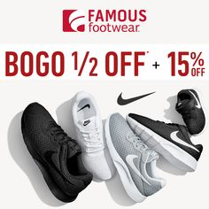 In-store & Online : 15% #off your purchase.  Store : #FamousFootwear Scope: Entire Store  Ends On : 09/14/2016    Get more deals: http://www.geoqpons.com/Famous-Footwear-printable-coupons  Get our Android mobile App: https://play.google.com/store/apps/details?id=com.mm.views    Get our iOS mobile App: https://itunes.apple.com/us/app/geoqpons-local-coupons-discounts/id397729759?mt=8