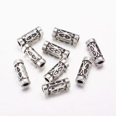 40//120pcs Tibetan silver Crafts small butterfly Loose Spacer Beads 5.5*7mm