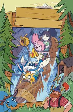 Adventure Time Vol. 16 - Comics by comiXology Adventure Time Poster, Adventure Time Wallpaper, Adventure Time Characters, Adventure Time Finn, Cartoon Network Adventure Time, Adventure Time Background, Fin And Jake, Jake The Dogs, Finn The Human
