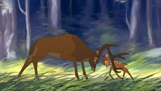 Bambi 2: The Great Prince of the Forest and Bambi (Young Prince)