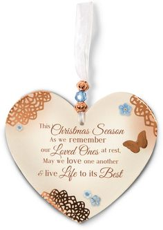 """Remembering at Christmas by Light Your Way Memorial - 4"""" Paper Ornament - Pavilion"""