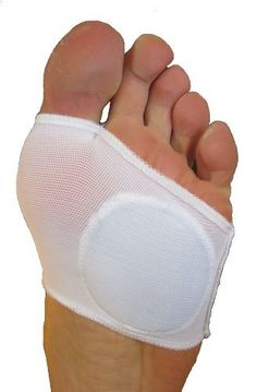Metatarsal Sleeve - Right Foot by FlexaMed. $8.95. FlexaMed Metatarsal Sleeve for relief from Morton's neuroma, metatarsalgia, calluses, sesamoiditis and other forefoot (ball-of-foot) problems. An extra-soft and breathable gel pad absorbs pressure, shock and friction to cushion and protect your foot. Flexible, durable elastic won't slip off and thin design easily fits into dress or casual shoes.