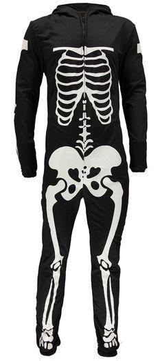 Skeleton onesie