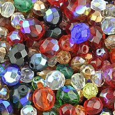 Czech Glass Mixes Bohemian Beads