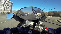 Lane splitting at 90 MPH goes as expected