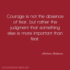 Thriving With Fear - Incandescere Blog Post