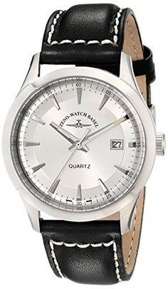Bild ZENO HERREN 42MM SCHWARZ LEDER… Basel, Watches, Shopping, Accessories, Tag Watches, Wrist Watches, Watch