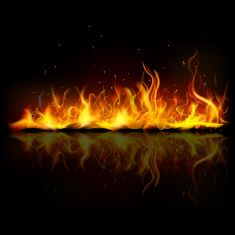 Strip of Flames Vector Illustration - WeLoveSoLo Free Texture Backgrounds, Great Backgrounds, Photo Backgrounds, Black Backgrounds, Black Background Images, Textured Background, Background Ppt, Large Wall Stickers, Beautiful Nature Wallpaper
