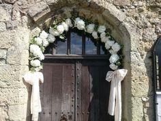 Church Wedding Arch