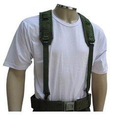 Cinto NA - Tático - Cinturão + Suspensório de Serviço NA Padrão RUE - EB - Confeccionado em Fita de Polipropileno; - Pode ser utilizado em conjunto com os coletes táticos; - Utilizado para fixação de porta-acessórios;