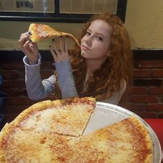"""53.5k Likes, 441 Comments - Francesca Capaldi (@francescacapaldi) on Instagram: """"Today is #nationalpizzaday Did u have a slice today??? What's your favorite kind of #pizza?…"""""""
