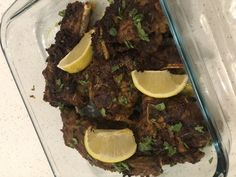 Fried Masala Lamb Chops 🥩🥩🥩 recipe by Mubina posted on 05 Mar 2019 . Recipe has a rating of by 1 members and the recipe belongs in the Beef, Mutton, Steak recipes category Lamb Chop Recipes, Steak Recipes, Real Food Recipes, Marinated Lamb, Lamb Dishes, Garlic Paste, Chops Recipe, Lamb Chops, Food Categories