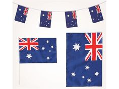 Australian Flags and bunting