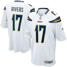 fe4dec48d Philip Rivers Los Angeles Chargers Nike Youth Game Jersey Ð White