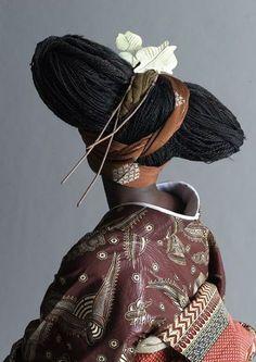 African fabrics Kimono