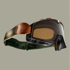 100% Barstow Classic Motorcycle Goggles - Ornamental Conifer