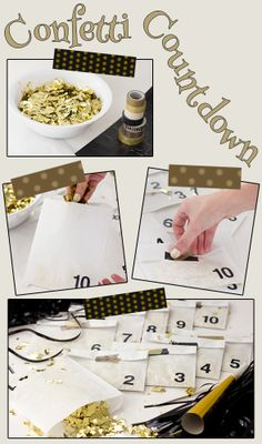 #NYE is nothing without confetti! #DIY