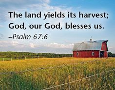 Psalm 67 and 6