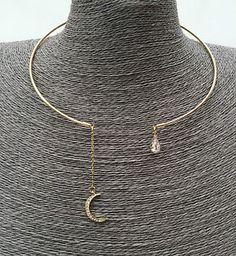 Torque-Torc-Choker-Slave-Collar-Necklace-Geometric-Bohemian-Boho-Styles
