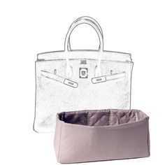 MaiTai Collection bag insert for an Hermes Birkin size 30