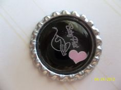 Baby Phat Bottle Caps For Hairbows by ang744 on Etsy, $3.75