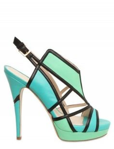 Burak Uyan 103mm Leather Geometric Sandals, $1,161, luisaviaroma.com  Or these..need these too!!