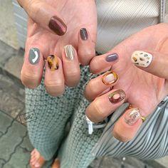 Cute Nail Art, Cute Nails, Pretty Nails, Hair And Nails, My Nails, Soft Nails, Short Nails Art, Catania, Nail Trends