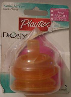 Playtex Drop In Nipples 45