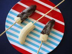 Frozen Bananas on a Stick on Weelicious