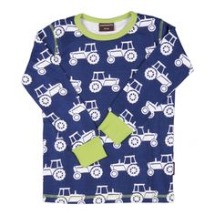 Cool Tractor Shirt - ittikid • Scandinavian Children's Clothes - Scandinavian Baby and Kids Clothes | Organic Eco Friendly Kids Clothes from Smafolk, Maxomorra, Duns Sweden, Sture & Lisa