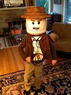 DIY Halloween Costumes: How To : DIY Lego Indiana Jones Costume : DIY Halloween DIY Lego Costume