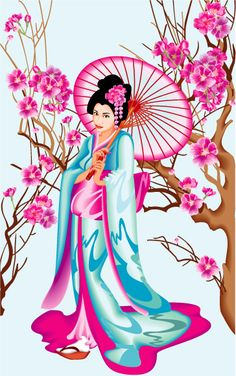 Japan girl by GruberJan on DeviantArt Japanese Geisha, Japanese Art, Chinese Painting, Chinese Art, Geisha Art, Japanese Drawings, Art Asiatique, Japanese Quilts, Art Japonais