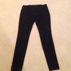 Balenciaga Pants Balenciaga black crepe straight leg pants.  Side zip with belt loops.  Hidden zip at bottom of leg. Fits leg tight especially at ankle but the zip lets you adjust to fit Balenciaga Pants