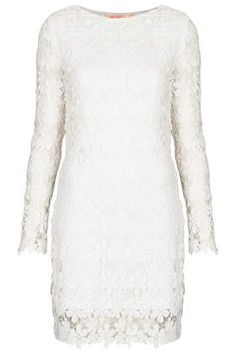 **Long Sleeve Crochet Dress by Oh My Love - Dresses  - Clothing