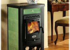 These small wood burning stove are elegant and easy to put into your tiny house. They are made out o